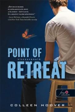 Colleen Hoover - Visszavonuló - Point of Retreat - Keménytáblás