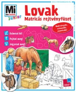 Eva Dix - Lovak - Matricás rejtvényfüzet