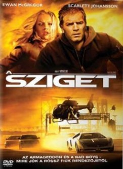 Michael Bay - A sziget - DVD