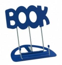"""- A """"Book"""" könyvtartó - Kék"""