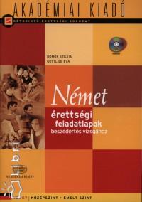 Dömők Szilvia - Gottlieb Éva - Német érettségi feladatlapok beszédértés vizsgához