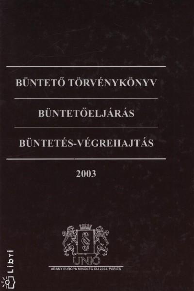 Németh István - Büntető törvényköny - Büntetőeljárás - Büntetés-végrehajtás