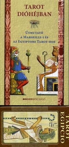 Makra Júlia  (Összeáll.) - Tarot dióhéjban - Útmutató a Marseille-i és az Egyiptomi Tarot-hoz