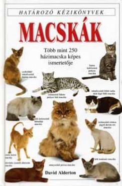 David Alderton - Macskák - Határozó kézikönyvek