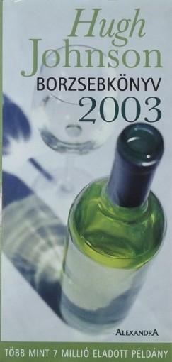 Johnson Hugh - Borzsebkönyv 2003