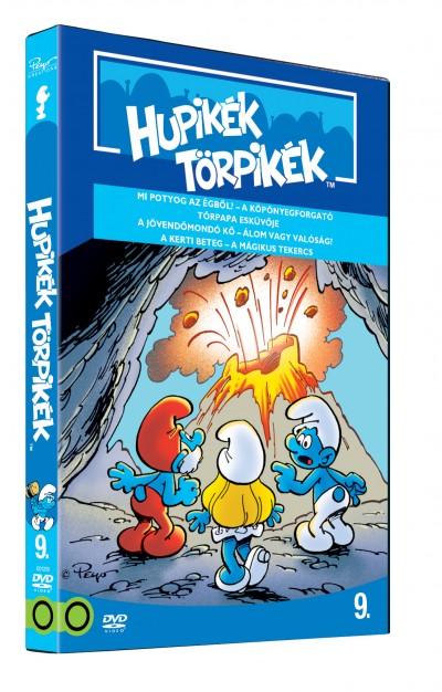 José Dutillieu - George Gordon - Hupikék Törpikék a sorozat 9. rész - DVD