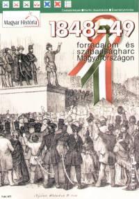 - 1848-49 forradalom és szabadságharc Magyarországon