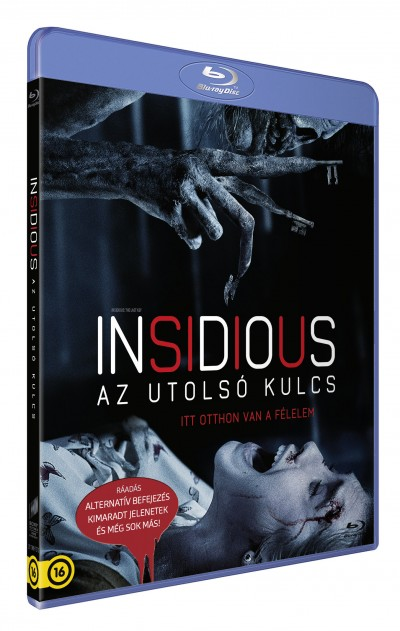 Adam Robitel - Insidious: Az utolsó kulcs - Blu-ray