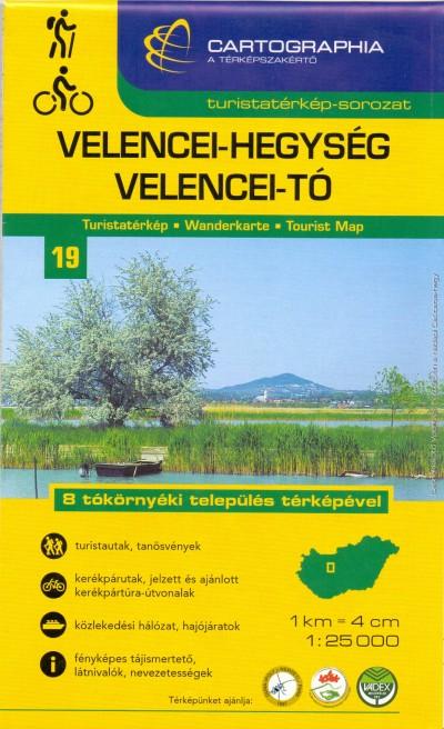 """- Velencei-hegység - Velencei-tó turistatérkép - 1:25 000 """"SC"""""""