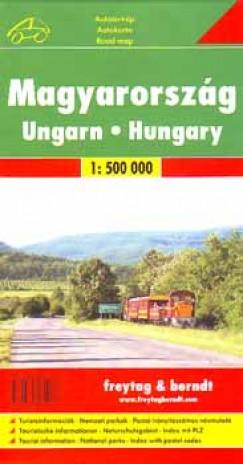 - Magyarország - 1:500 000