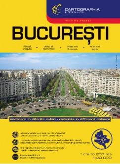 - Bukarest városatlasz, 1 : 20 000