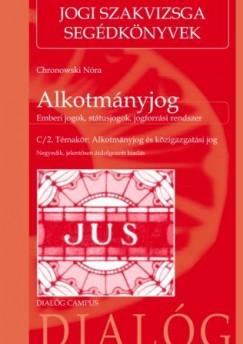 Chronowski Nóra - Alkotmányjog