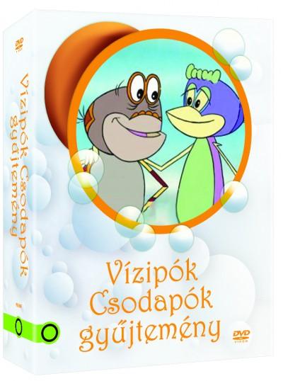 Szabó Szabolcs - Szombati Szabó Csaba - Vizipók csodapók 1-3. slipcase - DVD