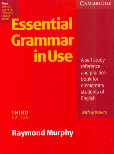 Raymond Murphy - Essential Grammar in Use with answers