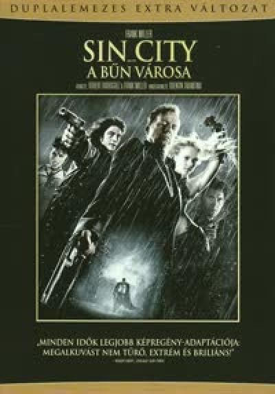 Frank Miller - Robert Rodriguez - Sin City - A bűn városa - 2 lemezes