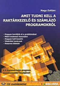Nagy Zoltán - Amit tudni kell a raktárkezelő és számlázó programokról