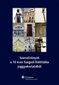 Dr. Dr. Hegedűs István, Kemenes István Dr. Harangozó Attila - Szemelvények a 10 éves Szegedi Ítélőtábla joggyakorlatából