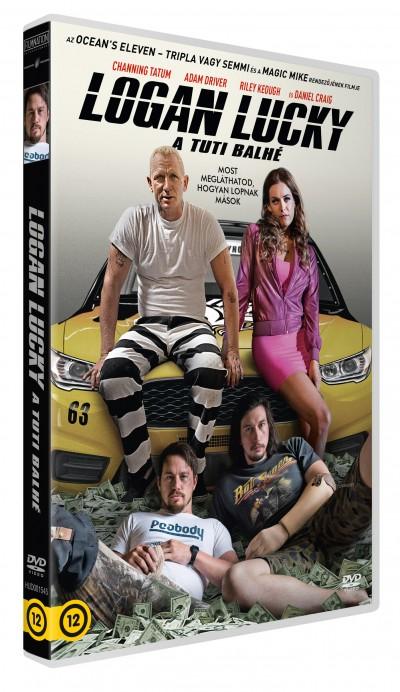 Steven Soderbergh - Logan Lucky - A tuti balhé - DVD