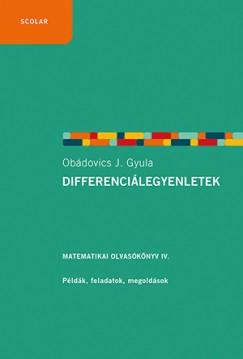Obádovics J. Gyula - Differenciálegyenletek