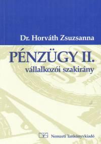 Horváth Zsuzsanna - Pénzügy II. -  Vállalkozói szakirány