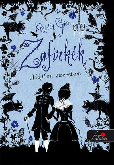 Kerstin Gier - Zafírkék - Időtlen szerelem - PUHATÁBLA