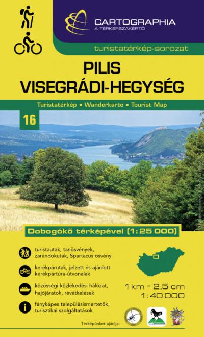 - Pilis és Visegrádi-hegység turistatérkép