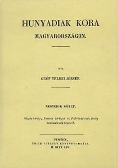 Télfy János - Hunyadiak kora Magyarországon IV.