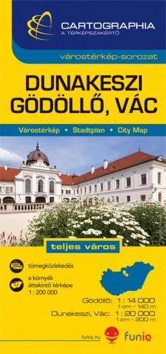- Dunakeszi, Gödöllő, Vác várostérkép