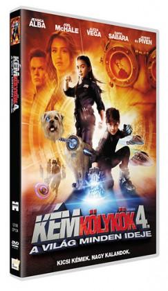 Robert Rodriguez - Kémkölykök 4. - A világ minden ideje - DVD