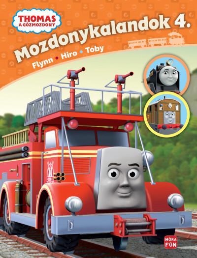 W. Awdry - Thomas, a gőzmozdony - Mozdonykalandok 4.