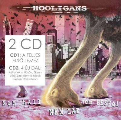 Hooligans - Nem hall, nem lát, nem beszél / Már hall, már lát már beszél - 2 CD