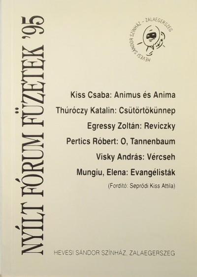 - Nyílt Fórum Füzetek '95