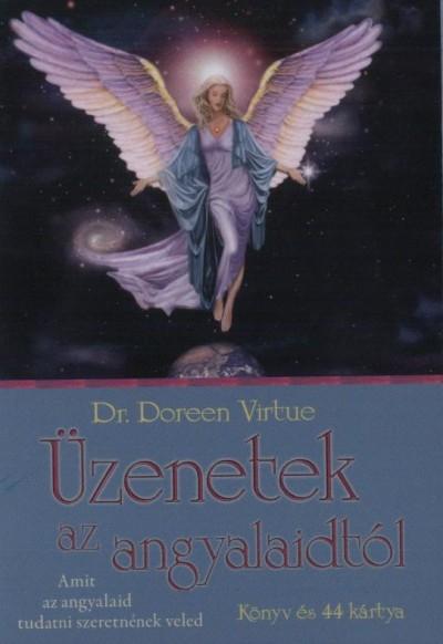 Dr. Doreen Virtue - �zenetek az angyalaidt�l - K�nyv �s 44 k�rtya