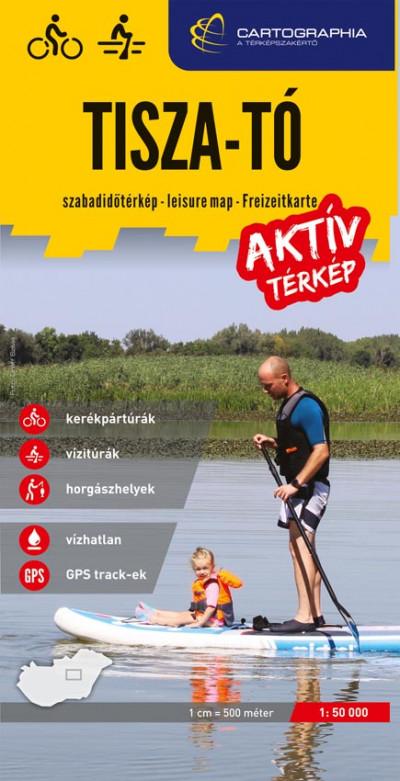 - Tisza-tó aktív térkép 1: 50 000