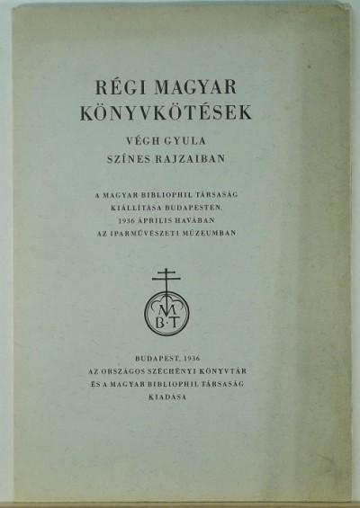 - Régi magyar könyvkötések