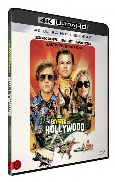 Quentin Tarantino - Volt egyszer egy... Hollywood - 4K Ultra HD + Blu-ray