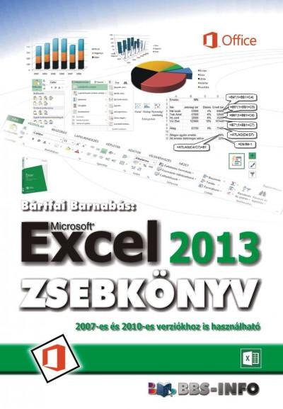 Bártfai Barnabás - Excel 2013 zsebkönyv