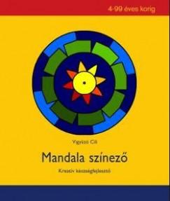 Vigyázó Cili - Mandala színező
