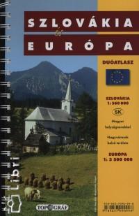 - Szlovákia és Európa duóatlasz