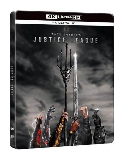 Zack Snyder - Zack Snyder: Az Igazság Ligája (2021)  - 2db 4K UHD - limitált, fémdobozos változat , steelbook
