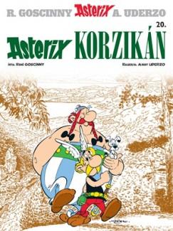 René Goscinny - Albert Uderzo - Asterix 20. - Asterix Korzikán