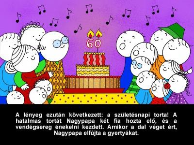 Bartos Erika - Nagypapa születésnapja - Diafilm