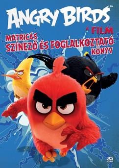 - Angry Birds - A film - Matricás színező és foglalkoztató könyv