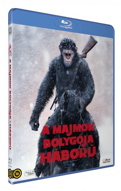 Matt Reeves - A majmok bolygója - Háború - Blu-ray
