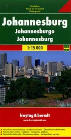 - Johannesburg várostérkép 1:15 000
