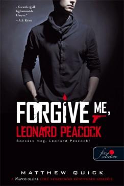 Matthew Quick - Bocsáss meg, Leonard Peacock! - Puhatáblás