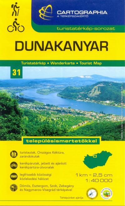 - Dunakanyar turistatérkép - 1:40 000