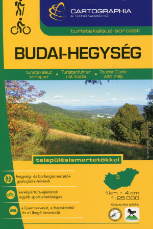 "Kov�cs Attila Gyula (Szerk.) - Szigeti Borb�la (Szerk.) - BUDAI-HEGYS�G TURISTAKALAUZ 1:25 000 ""SC"""