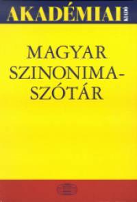 O. Nagy Gábor - Ruzsiczky Éva - Magyar Szinonimaszótár