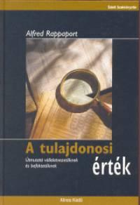 Alfred Rappaport - A tulajdonosi érték